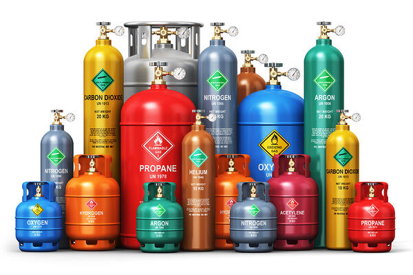 industrial-gas-bottles-dangerous-explosives-photo-full