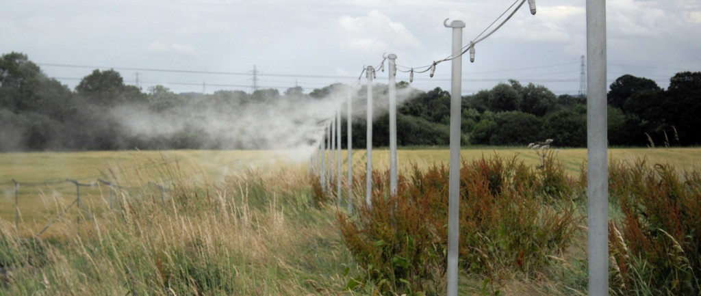 AtomisterHydro creates a 'curtain' of mist