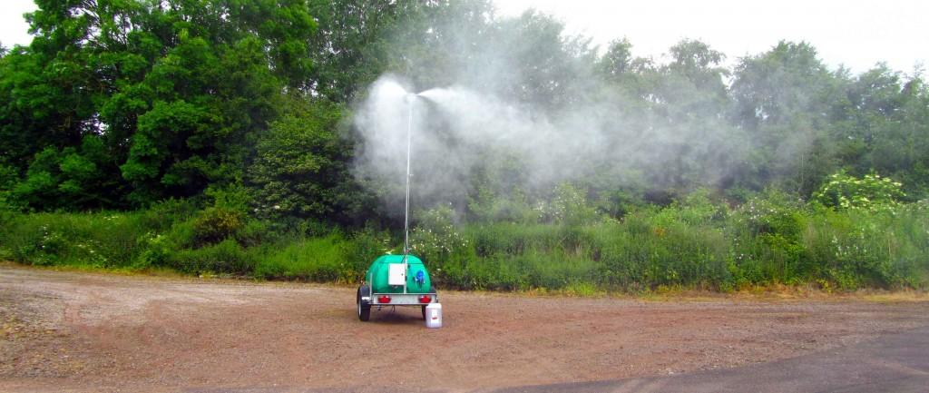 Automatic dilution means Corgin's excellent odour neutralisers can be incorporated into the mist for odour suppression