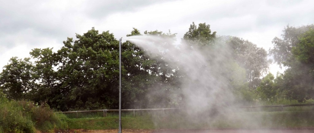 Perfect for point-source dust suppression