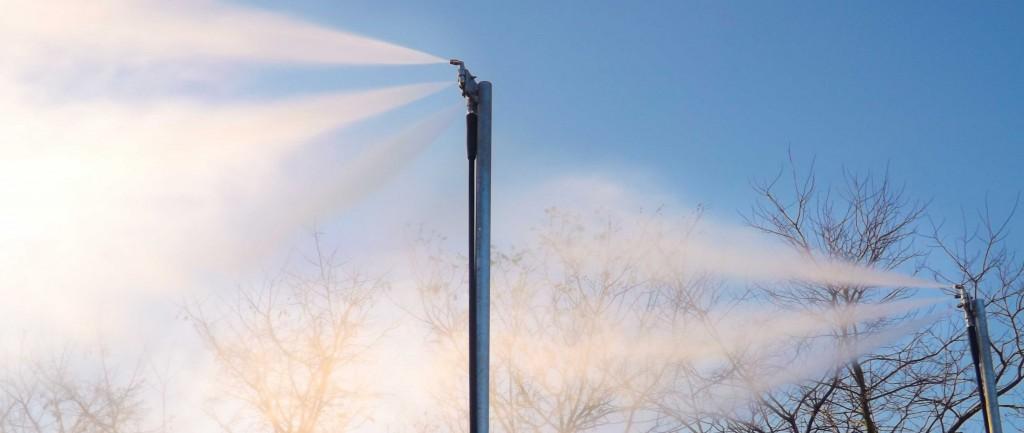 DustLayer - Large volume of mist