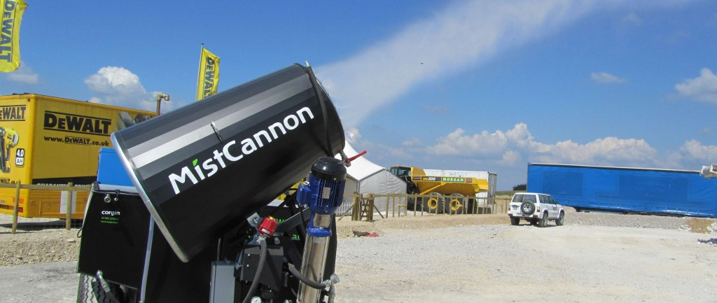 Star of the show: our MistCannons always prove very popular at exhibitions