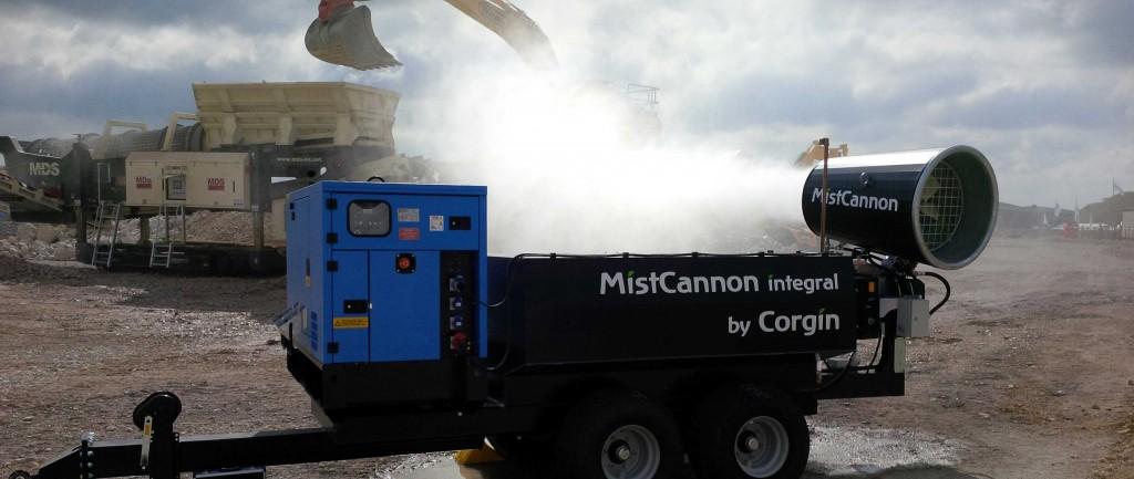 The MistCannon Integral in full swing