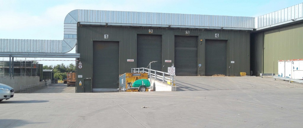Emergency odour management - the OdourScreen waits in readiness as part of an MBT's contingency plan