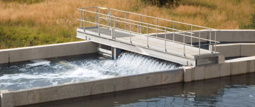 High efficiency aerators save energy