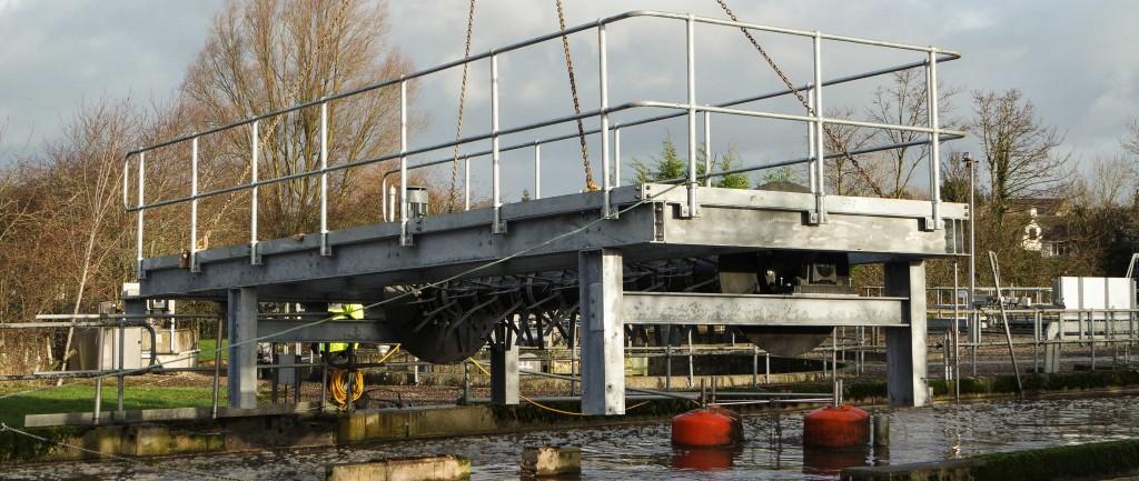 Bridge-mounted Rotex installation in Cumbria