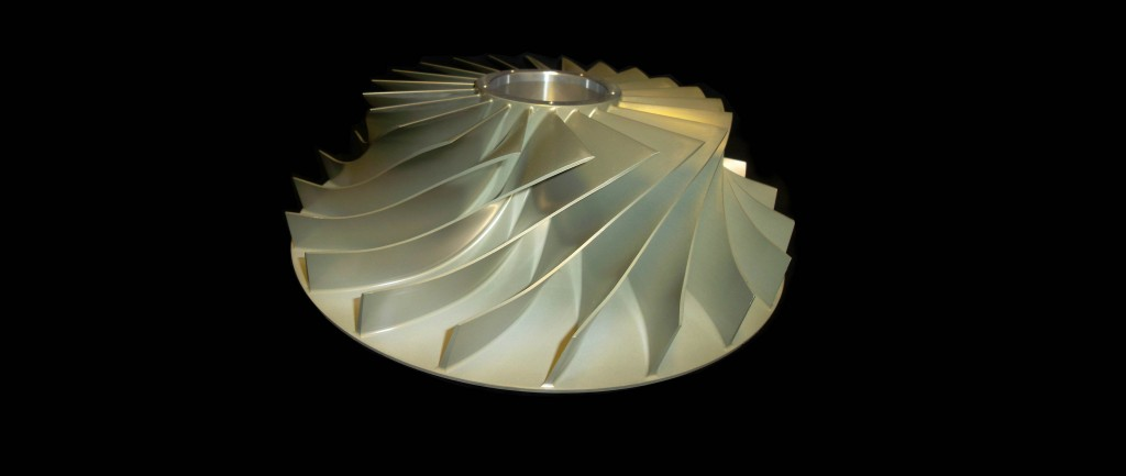 Solid forged impeller is suitable for high speed operation