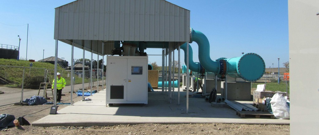 Two 450kW dual-core blowers in South East England