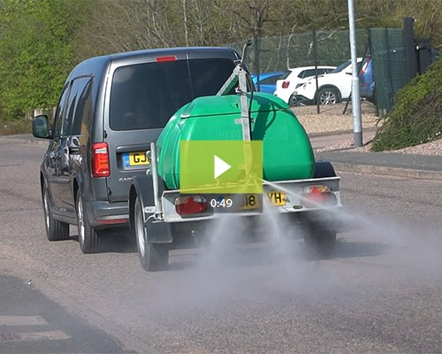 SaniSprayer - Mobile Spray Equipment for Large-Scale Disinfection
