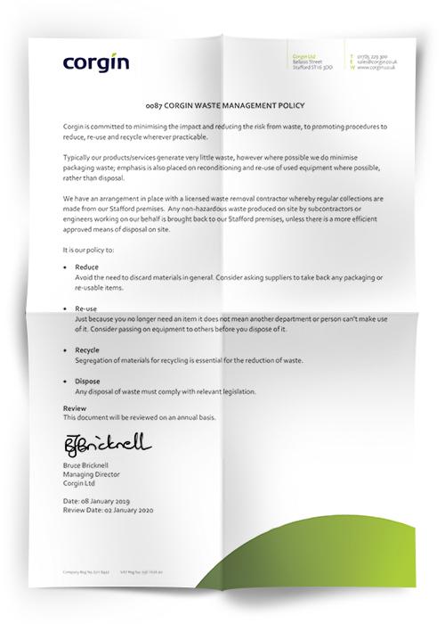 Waste Management Policy Statement