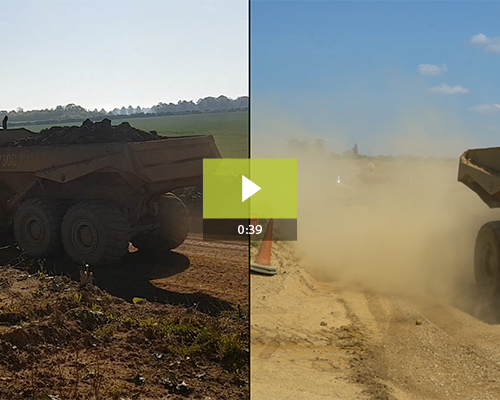 Long-Term Dust Control on Quarry Haul Road [Video]